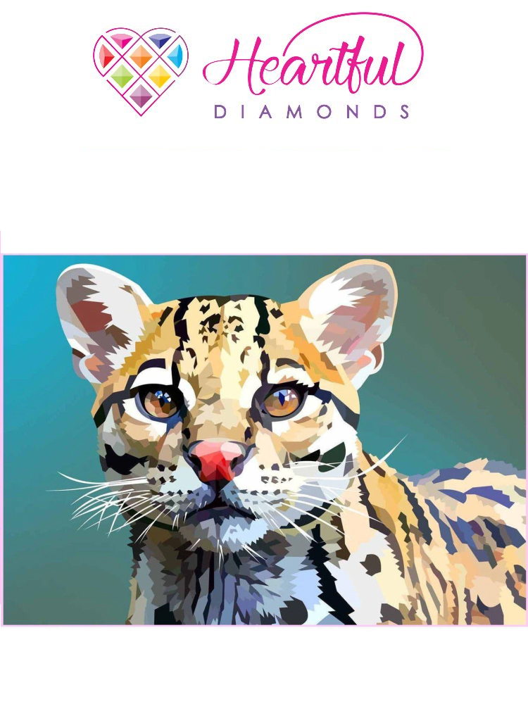 Ocelot - Diamond painting