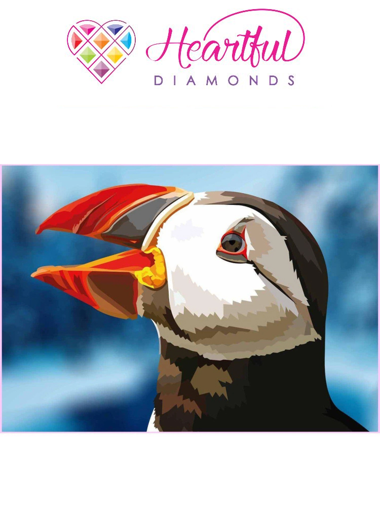Puffin - Diamond painting