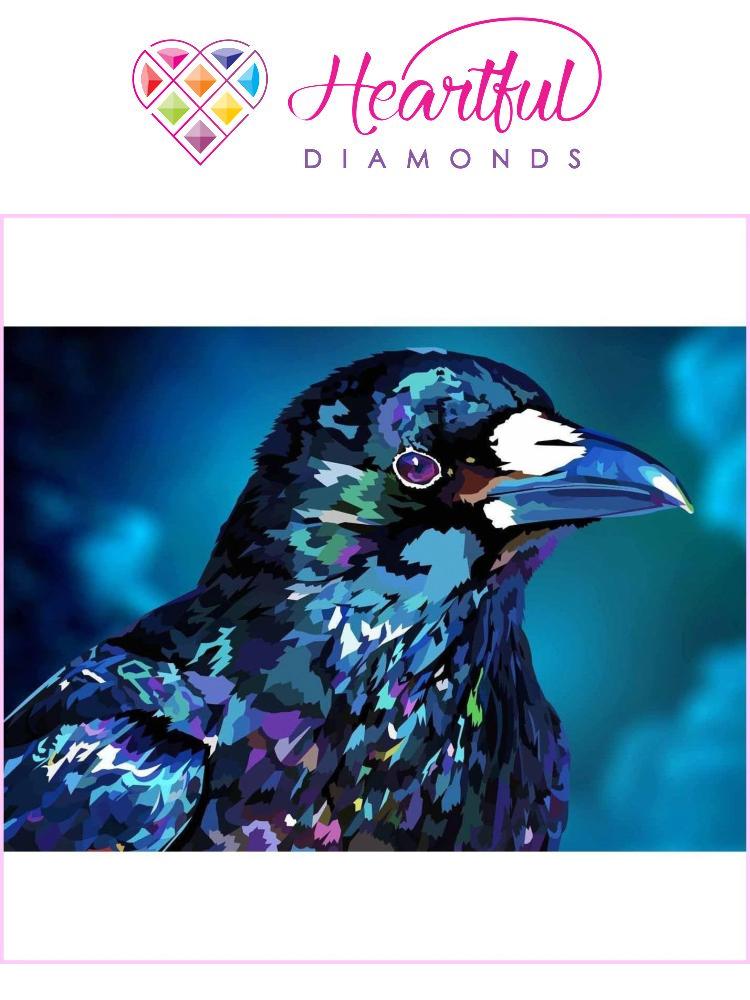 Diamond Raven - Diamond painting