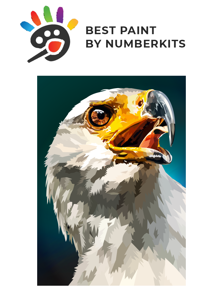 Bald Eagle - Painting by numbers