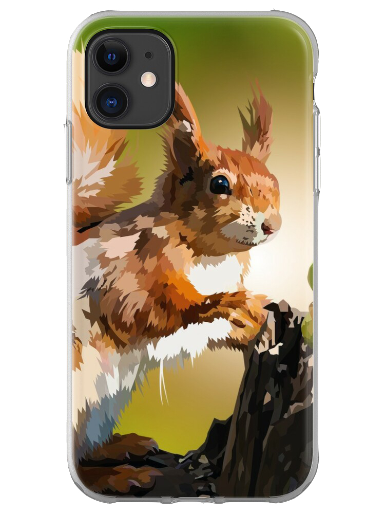 It's Squirrel Time - Mobile Case
