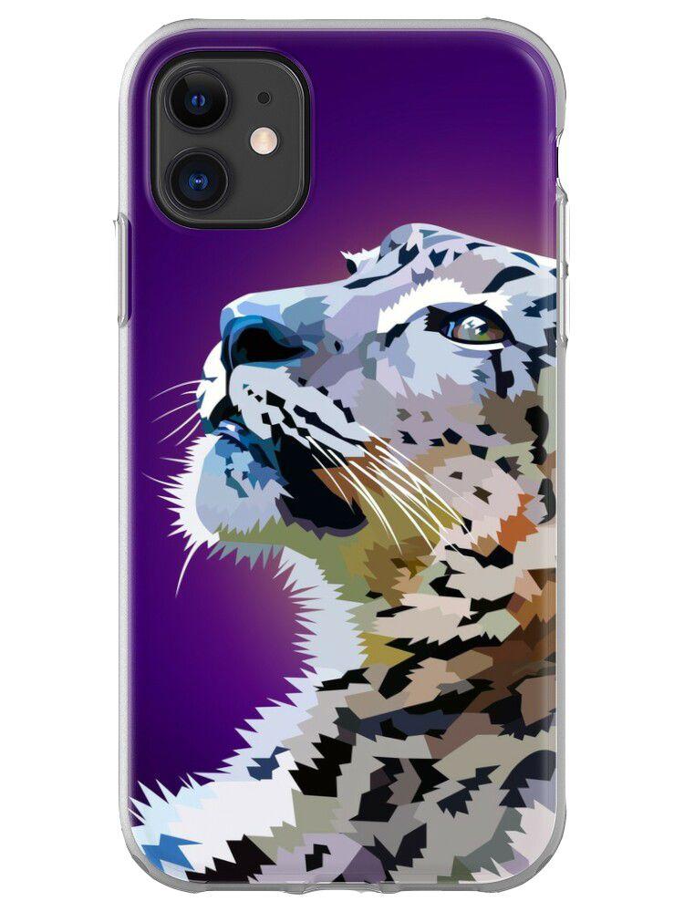 Staring Snowleopard - mobile