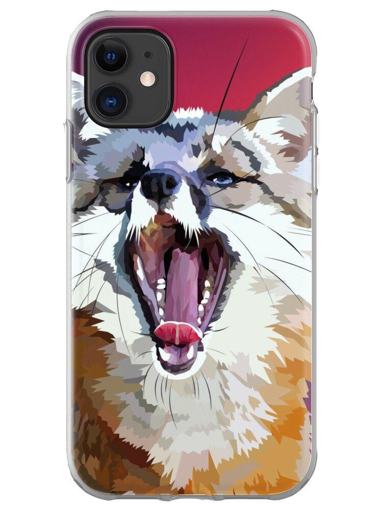 Yawning Fox - mobile