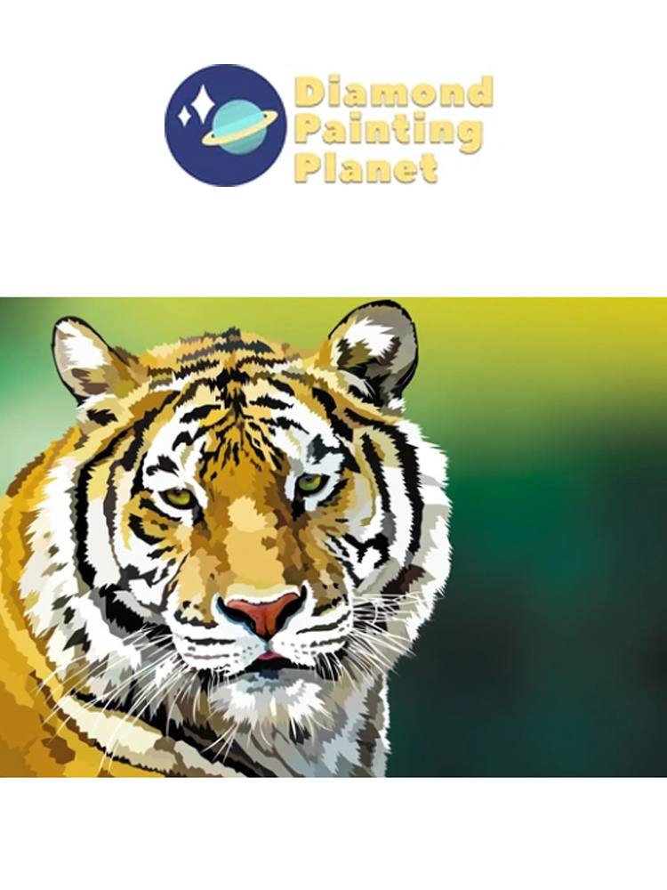 Tiger - Diamond painting