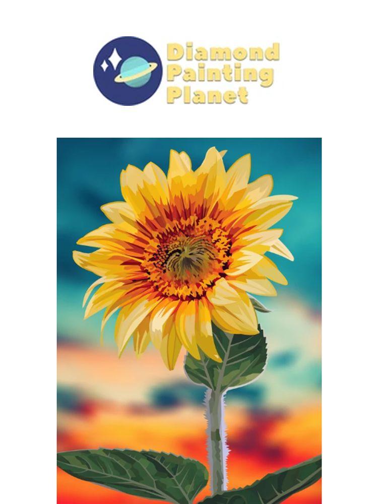 Sunflower - Diamond painting