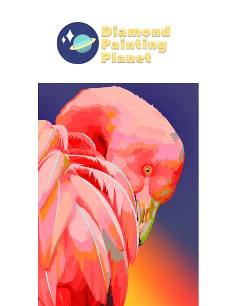 Flamingo - Diamond painting