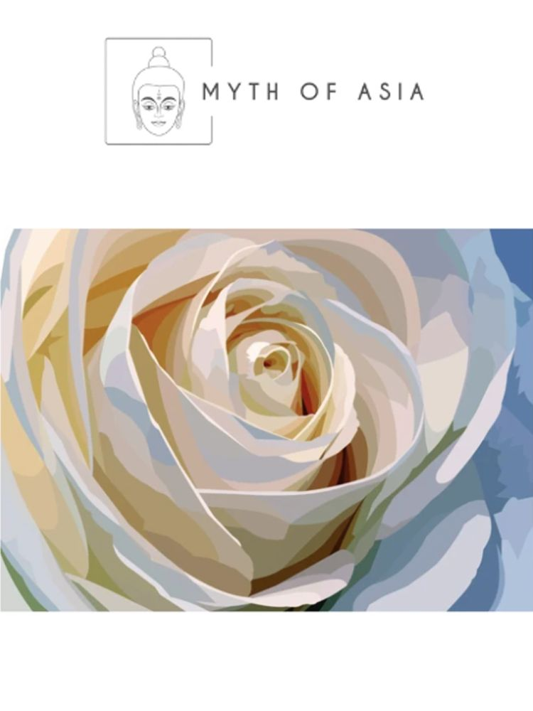 White wedding  rose - Diamond painting