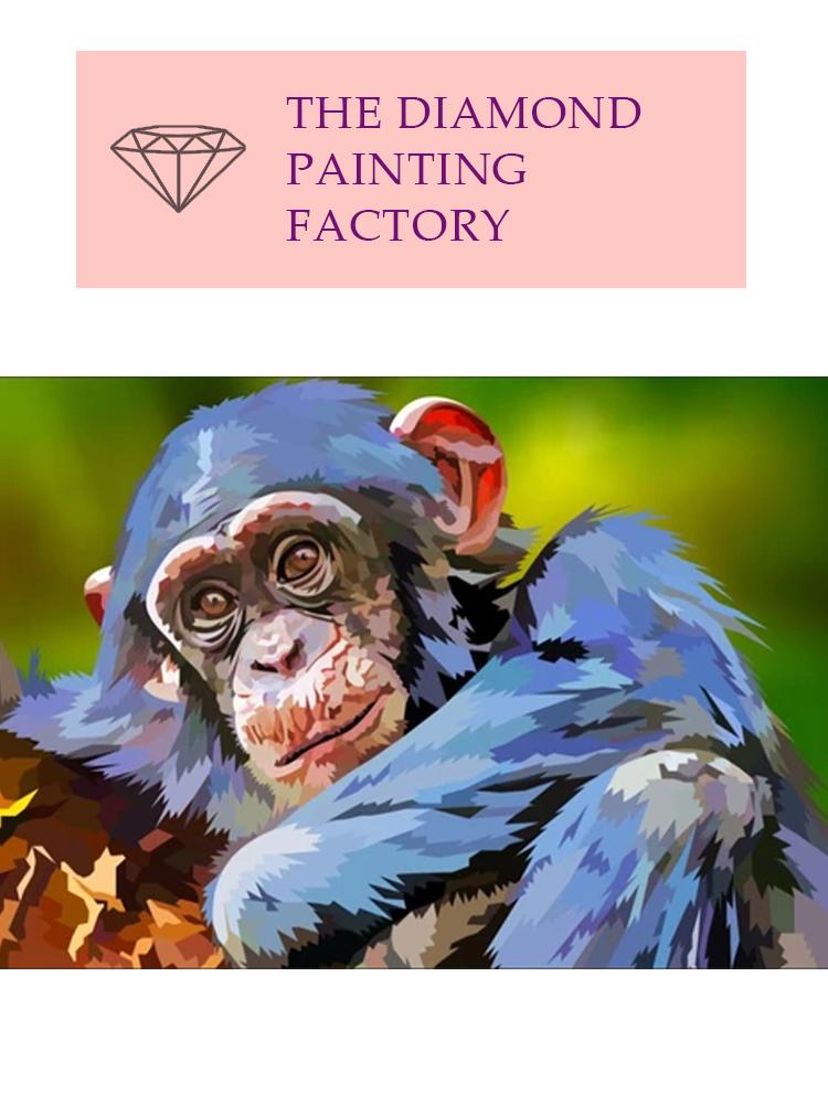 Chimp - Diamond painting