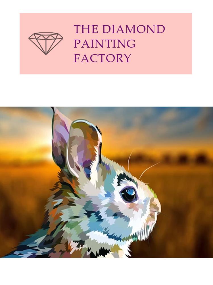 Hare - Diamond Painting