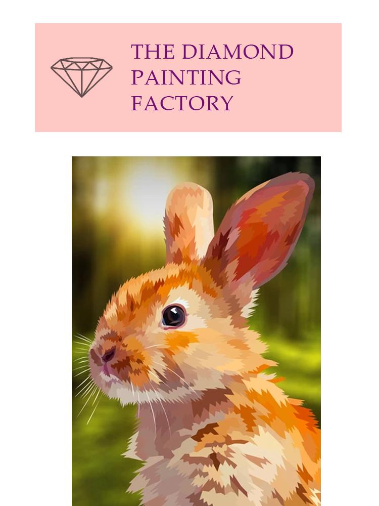 Rabbit forest- Diamond painting