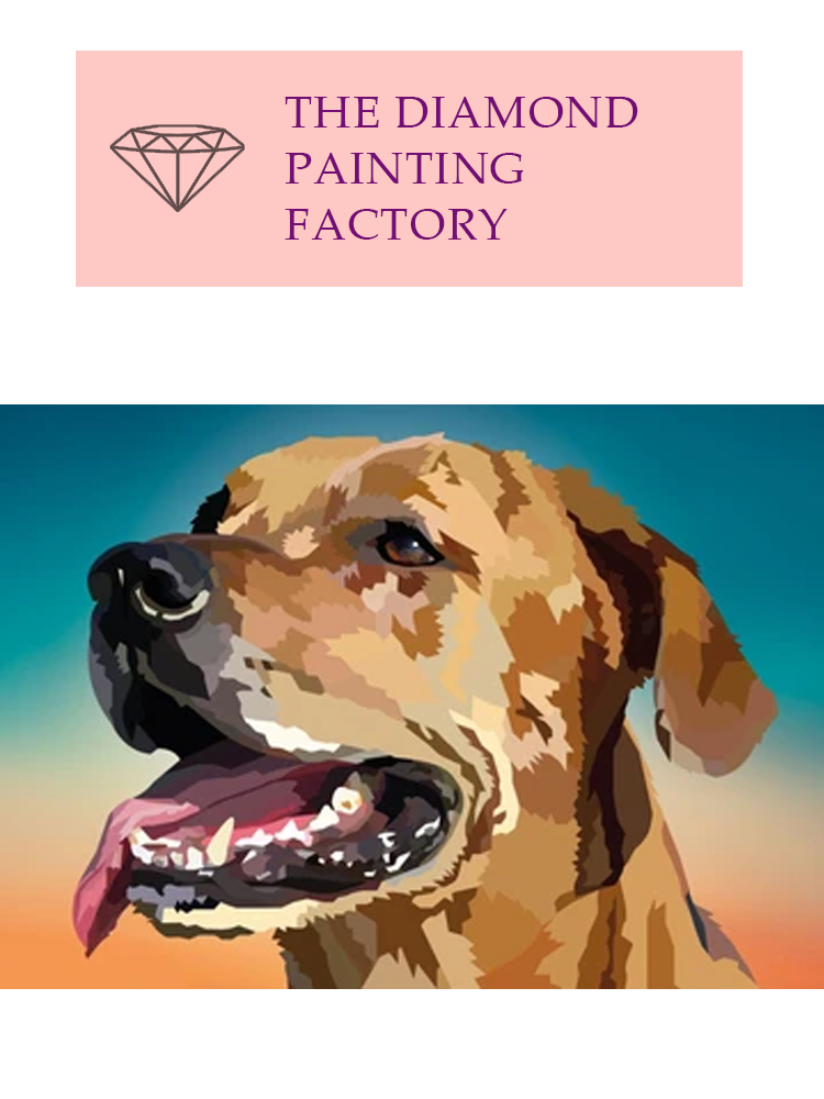 Who's a good boy - Diamond painting