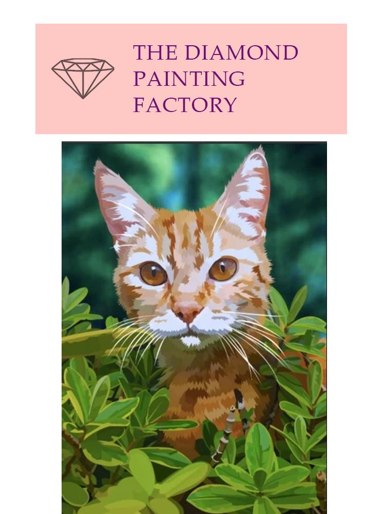 Fender The Bush cat - Diamond painting
