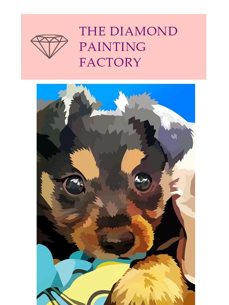 Dog Fado - Diamond painting