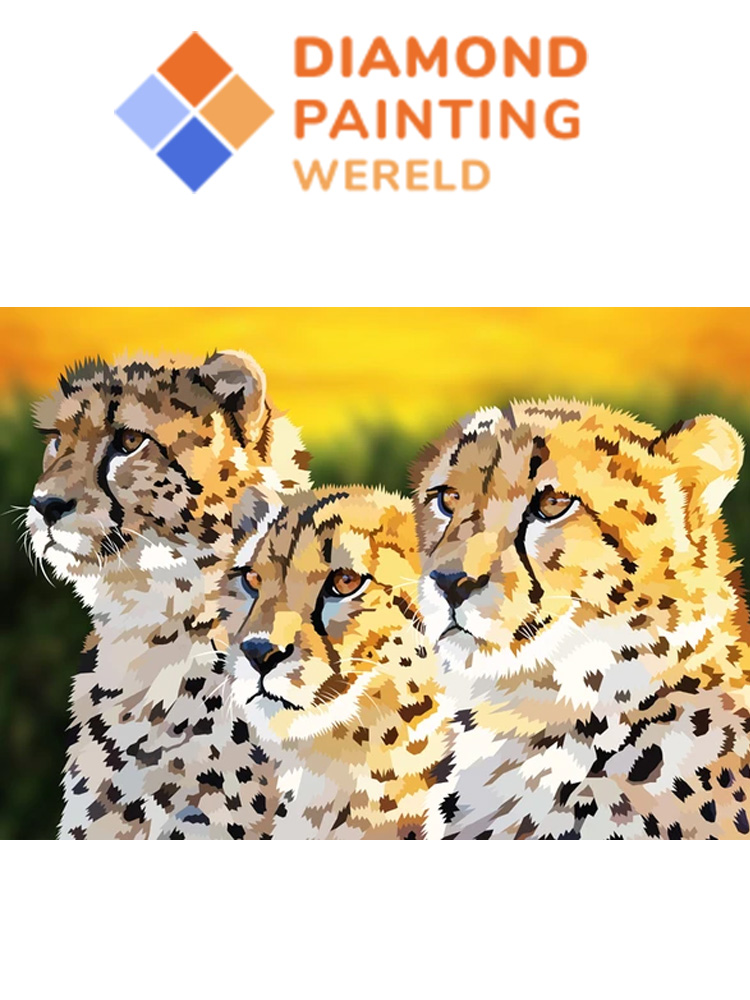 Cheetahs - Diamond painting
