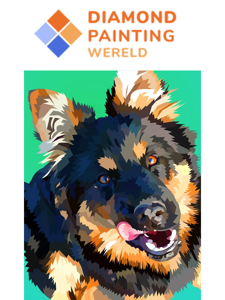 Doggie - Diamond painting