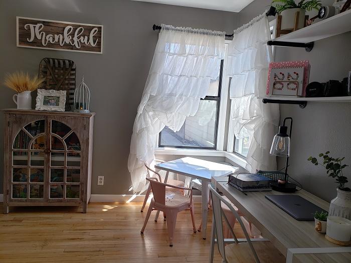 Charming Home Desk area