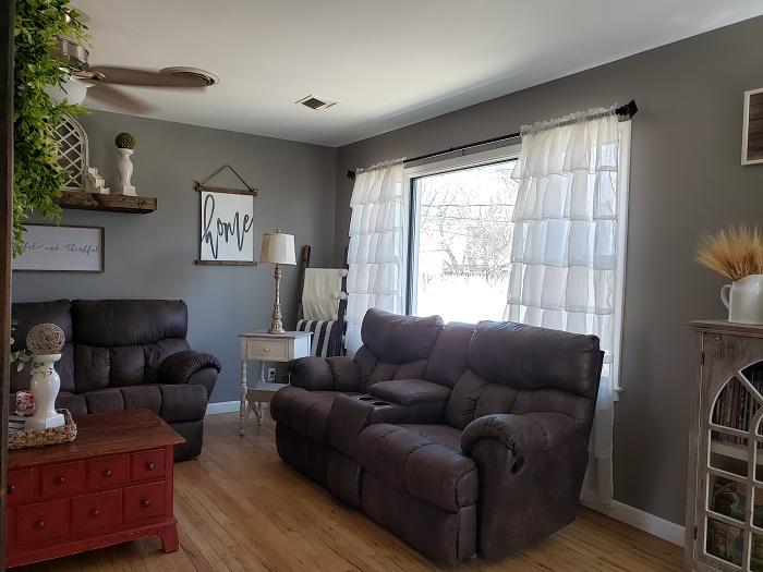 Charming Home Living room