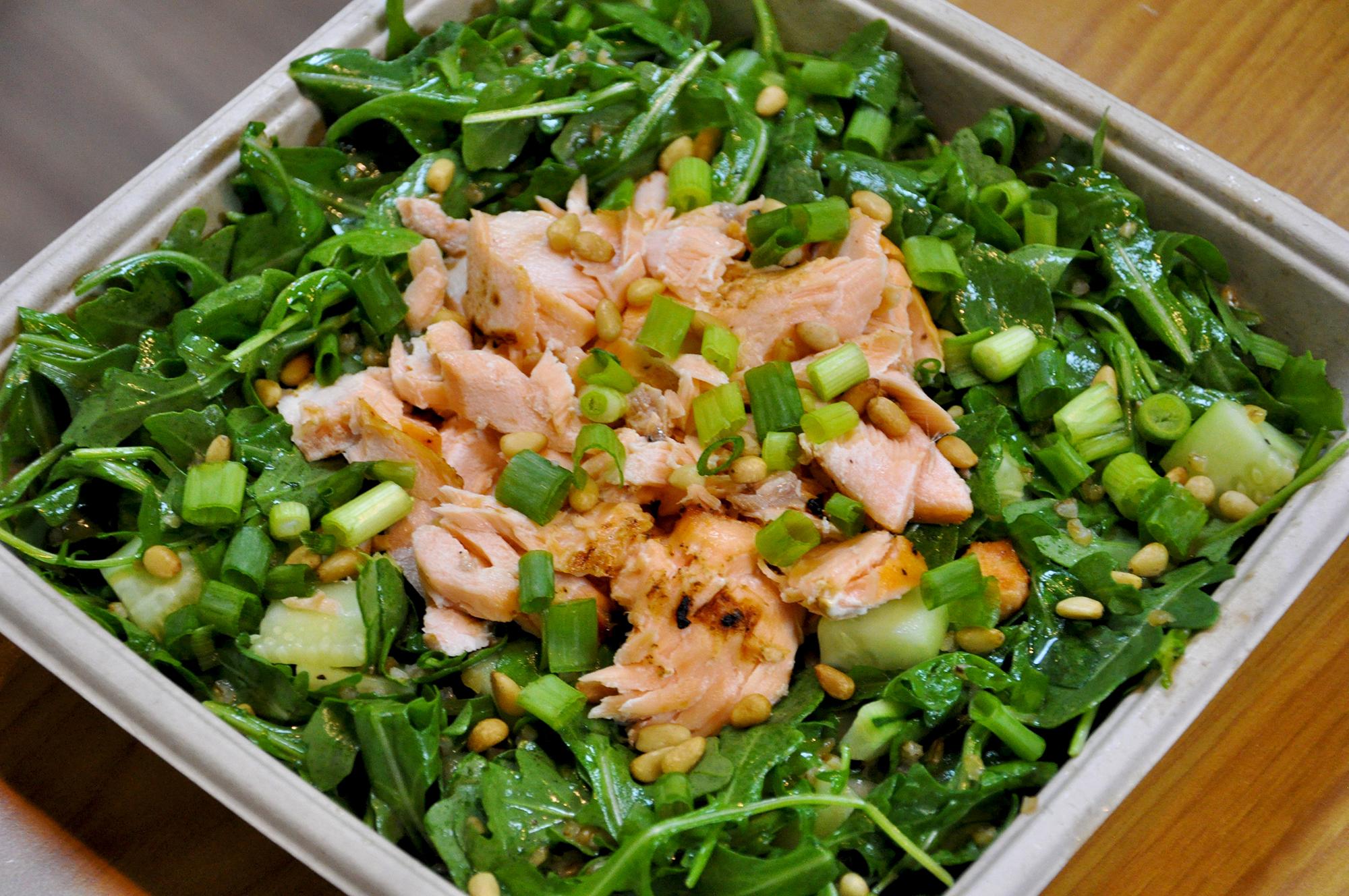 Salmon Bulgur Salads