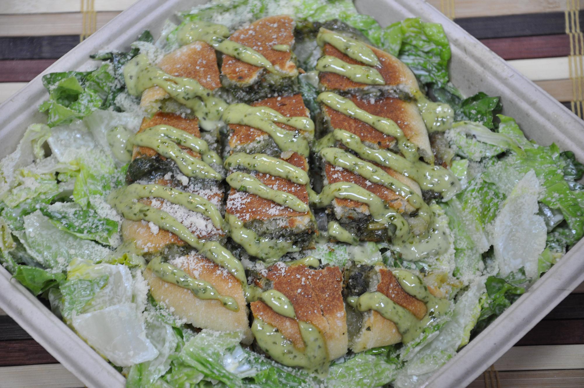 Caesar Toast Salad