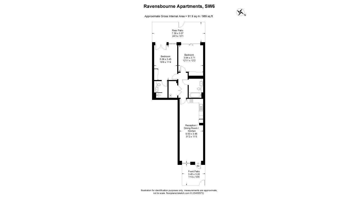 Ravensbourne Apartments, Fulham Riverside, London SW6