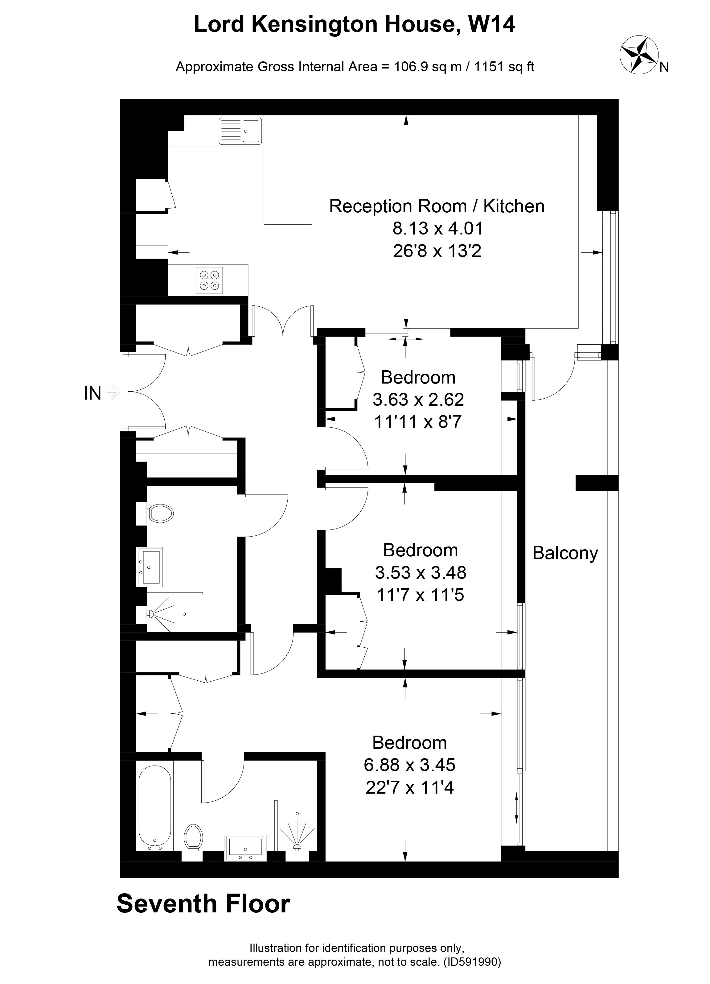 Lord Kensington House, 375 KHS, London W14