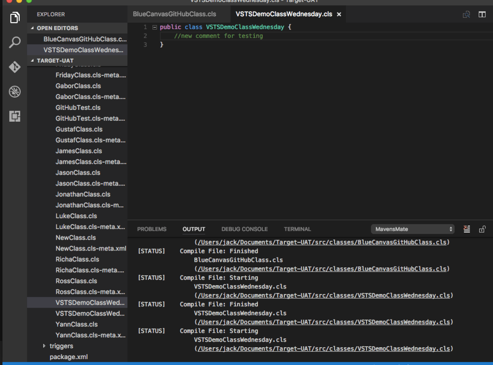 MavensMate for Visual Studio Code