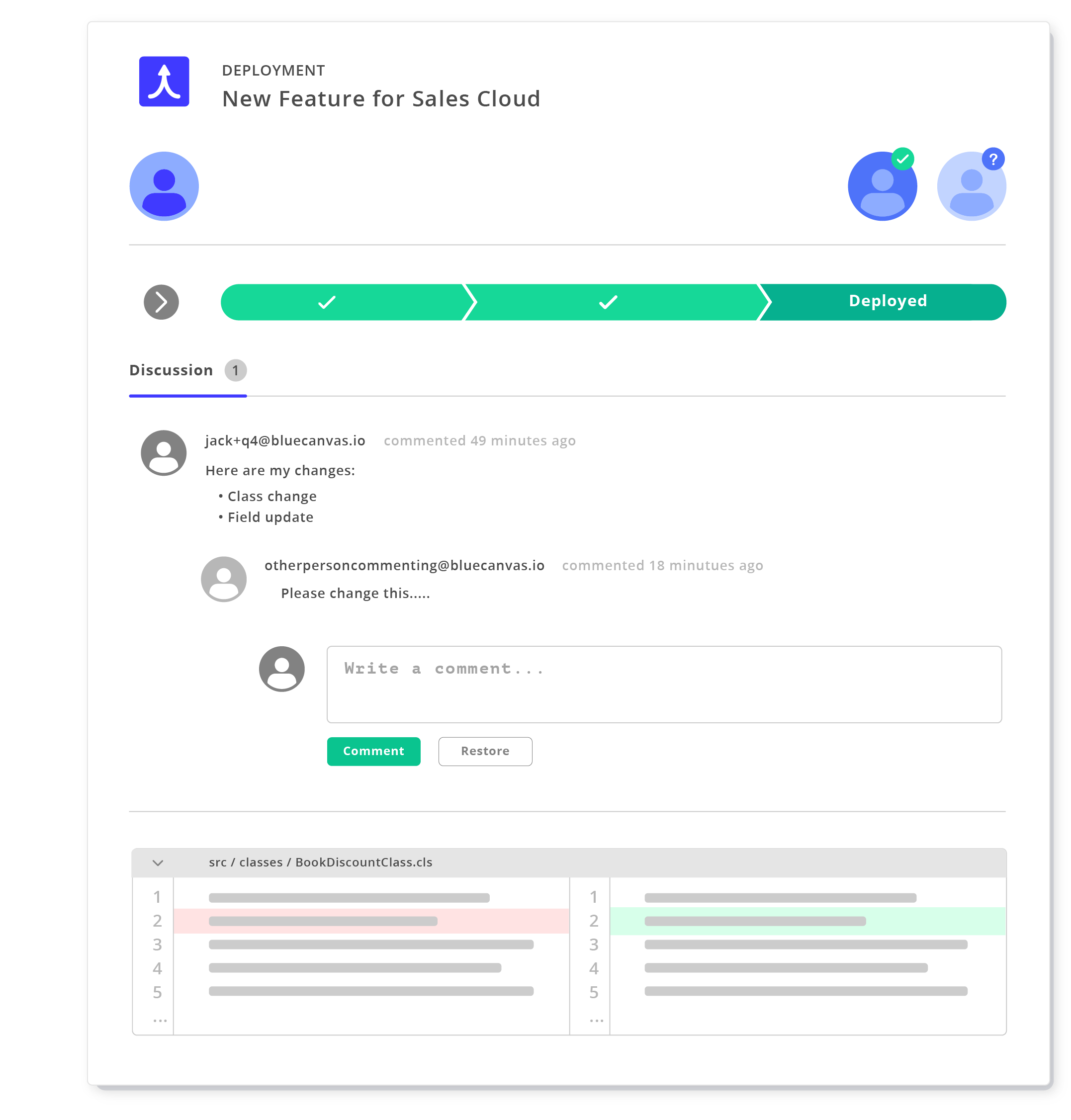 Blue Canvas - Source Control, CI and DevOps for Salesforce