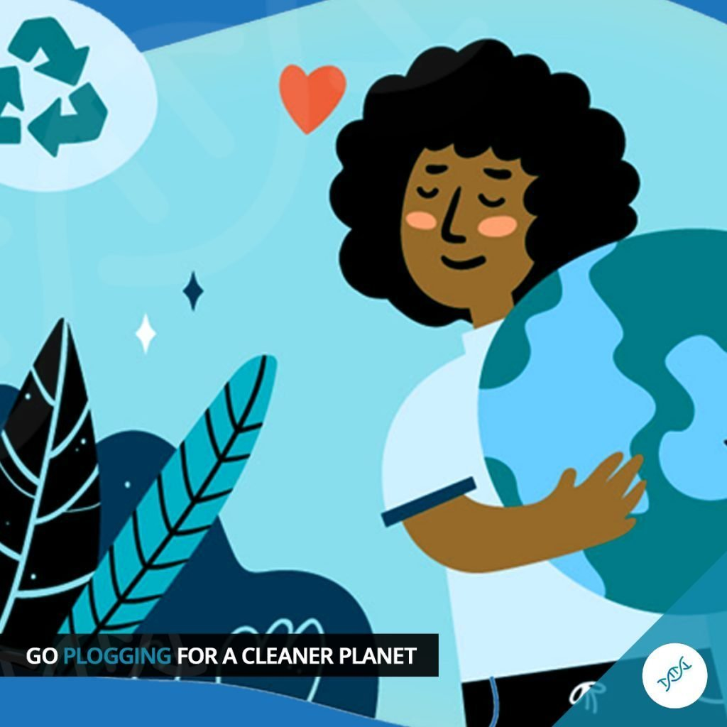 Memo_go plogging for a cleaner planet