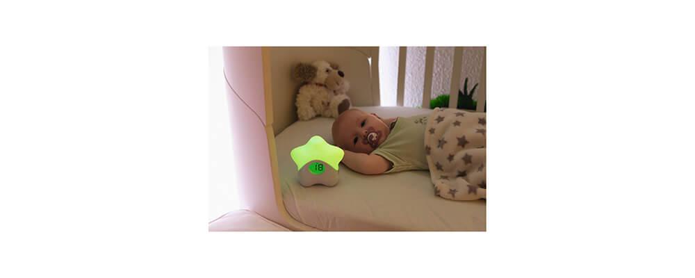 ABUS Nachtlicht mit Temperaturanzeige JC8650 Lily