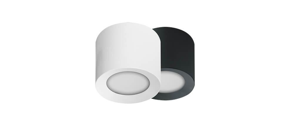 LOXONE LED Aufbauspot RGBW TREE weiß