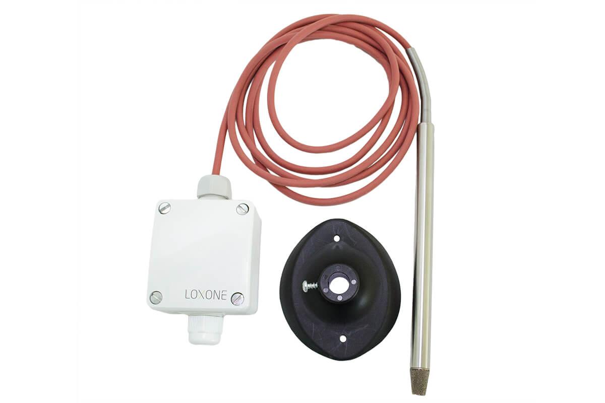 LOXONE Temperatur & Feuchtefühler Sauna 001