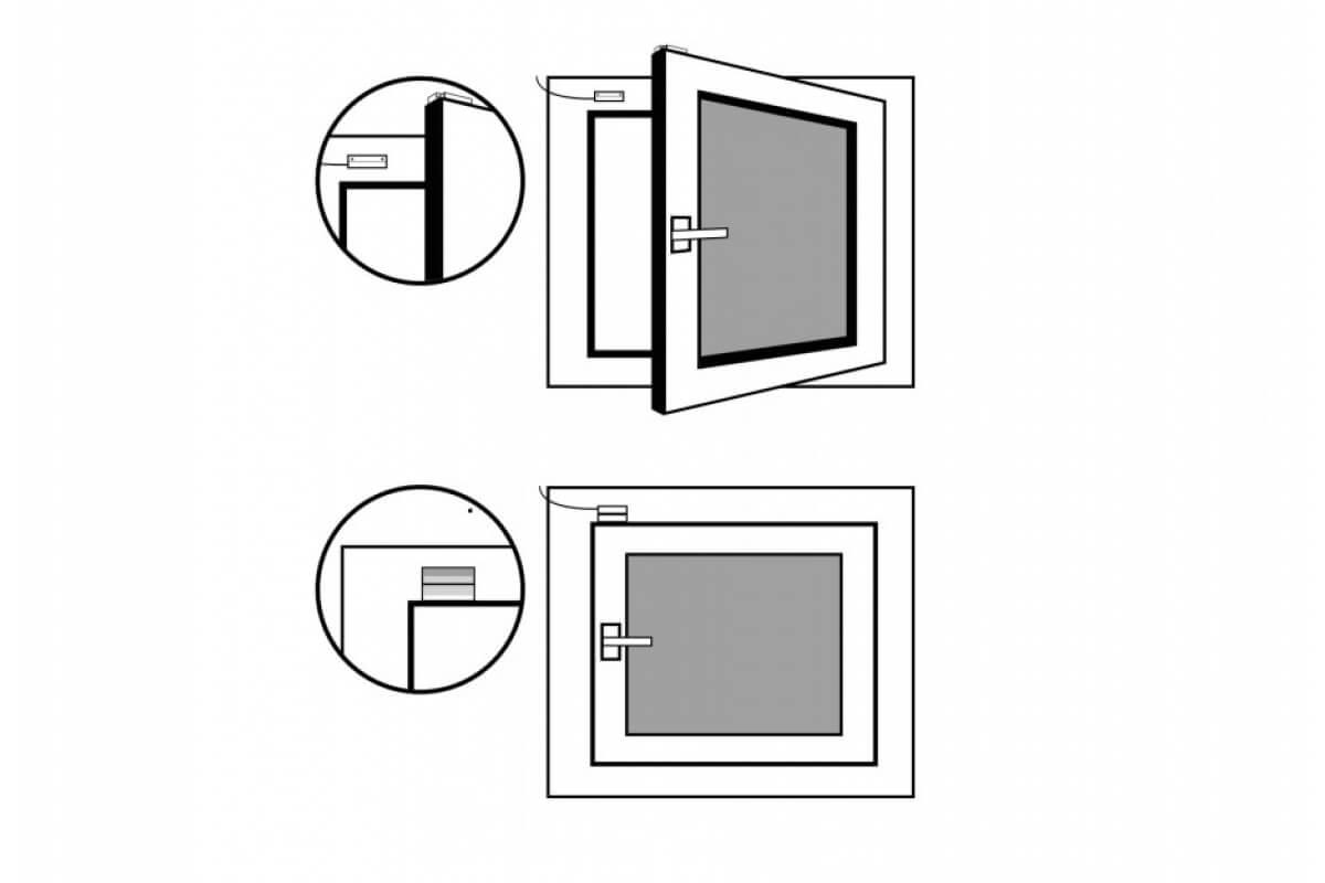 LOXONE Fensterkontakt 004