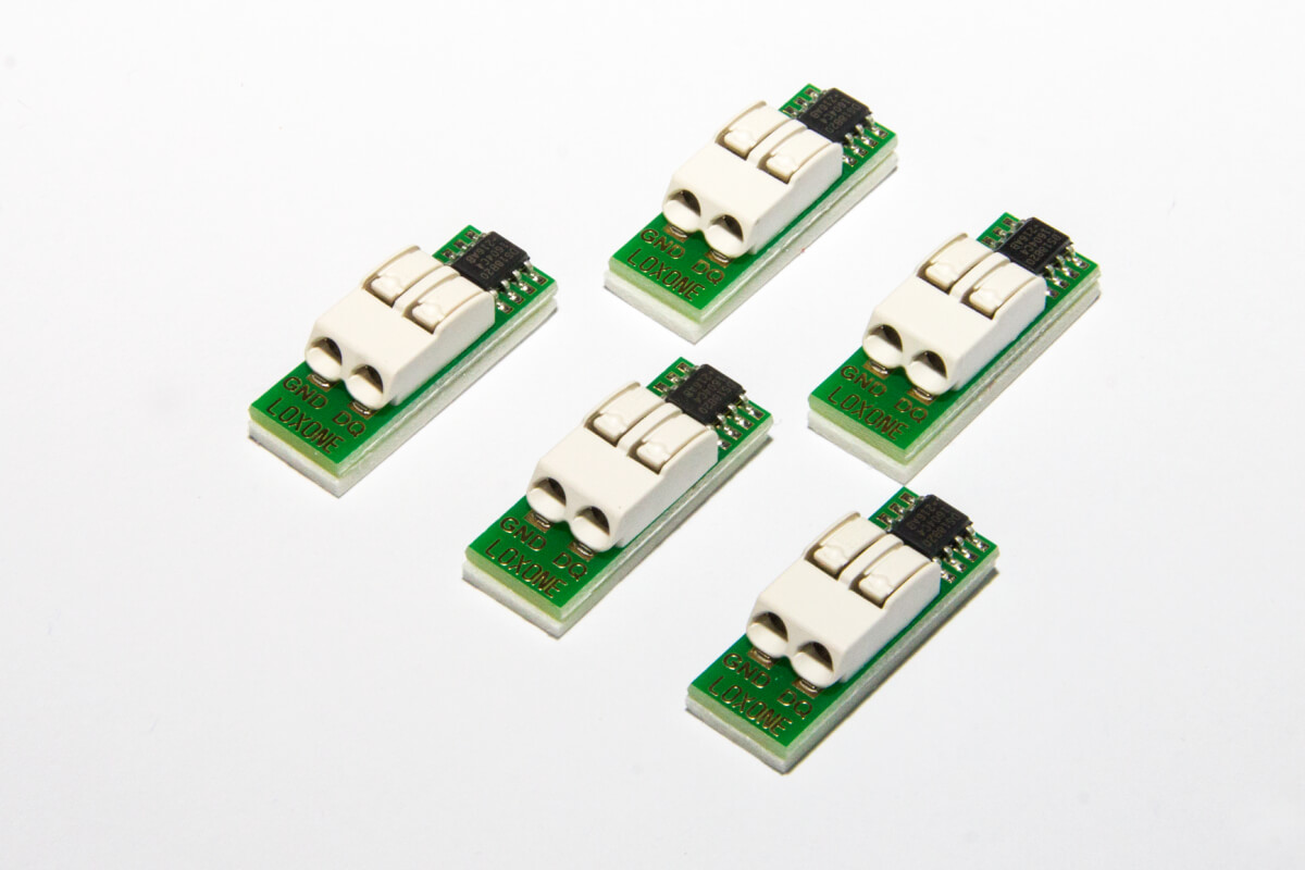 LOXONE 1-Wire Temperaturfühler Set 002