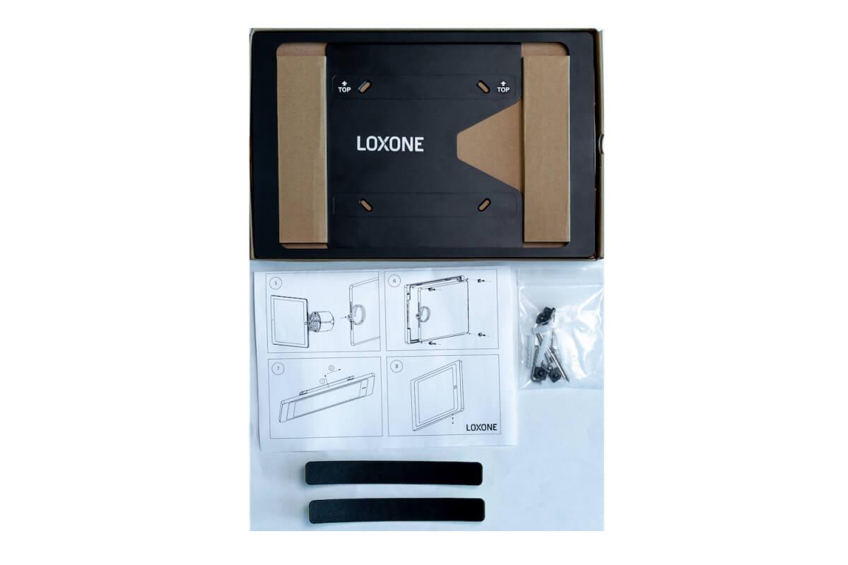 LOXONE iPad Wallmount 004