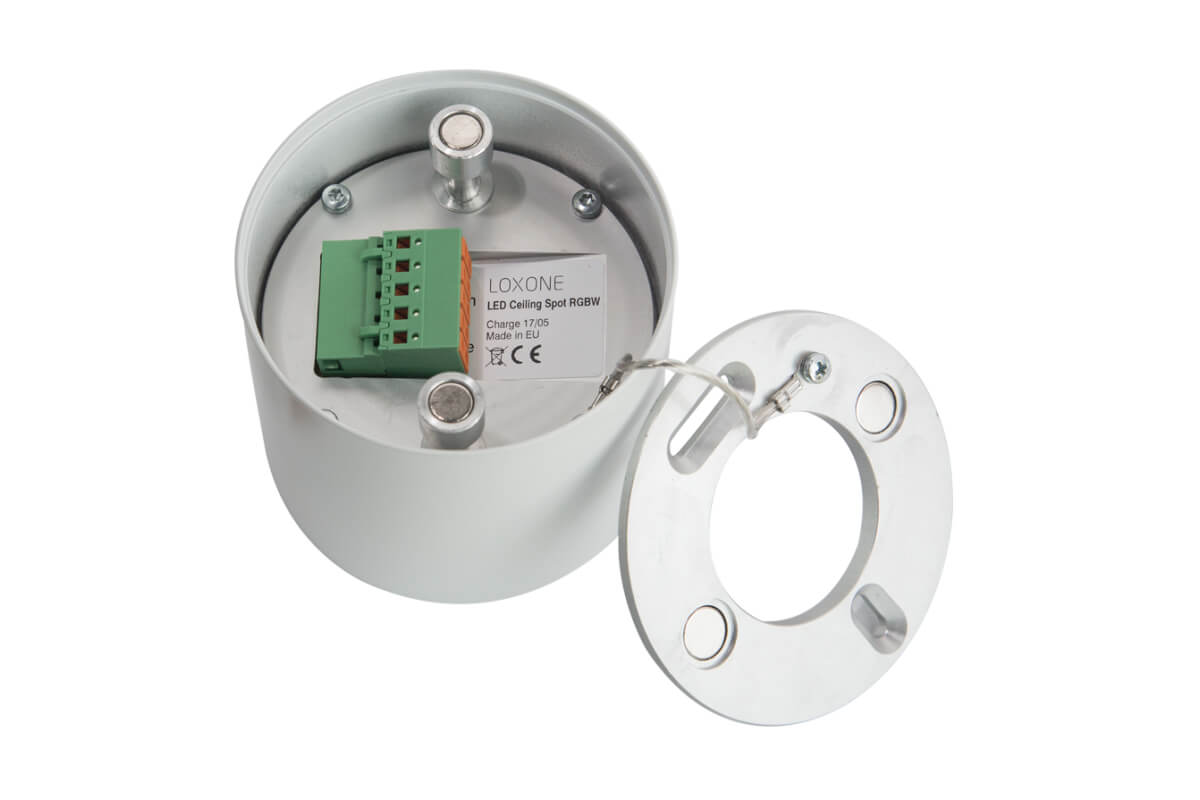 LOXONE LED Aufbauspot RGBW 002