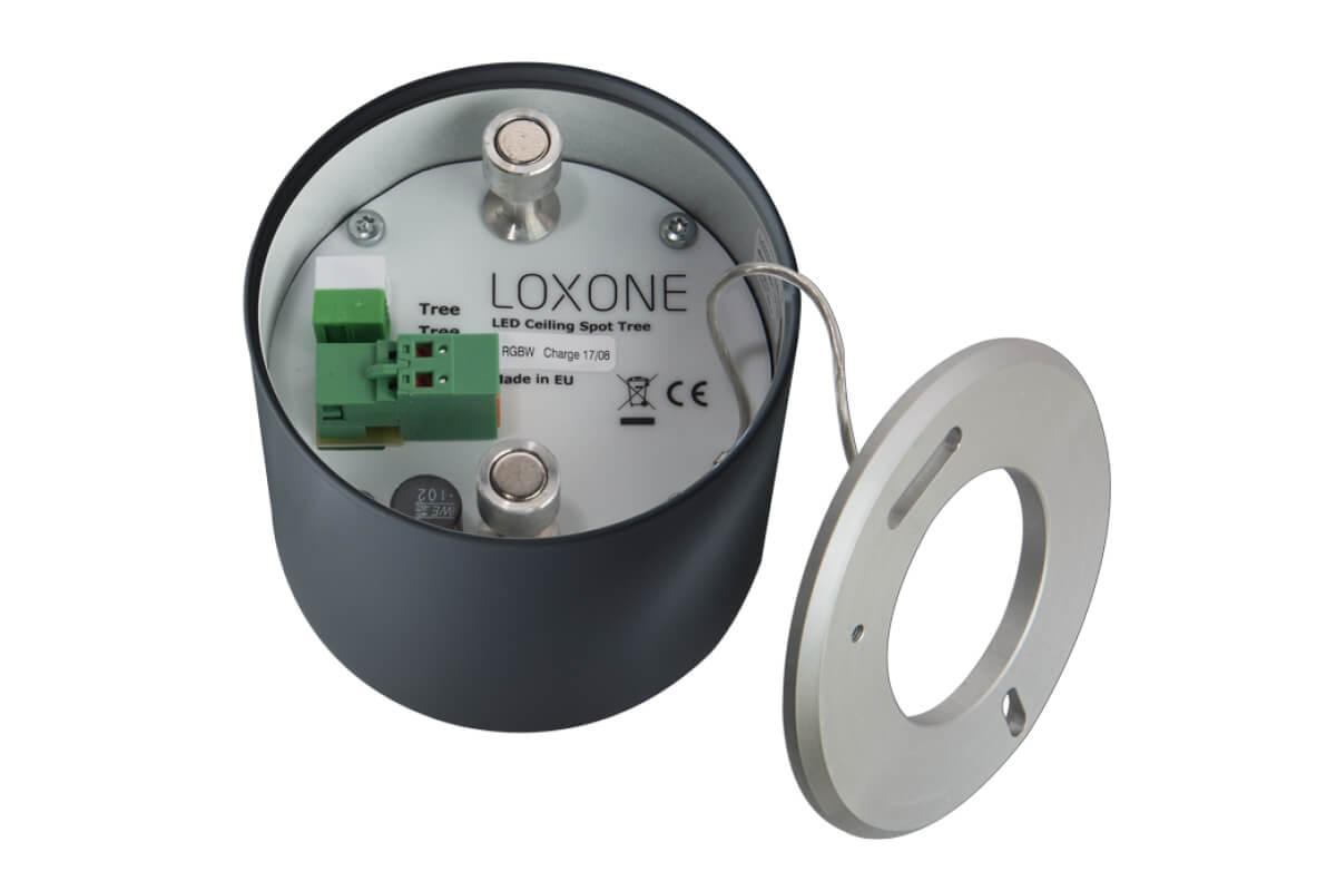 LOXONE LED Aufbauspot RGBW 003