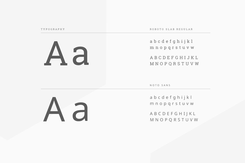 Uancast typography