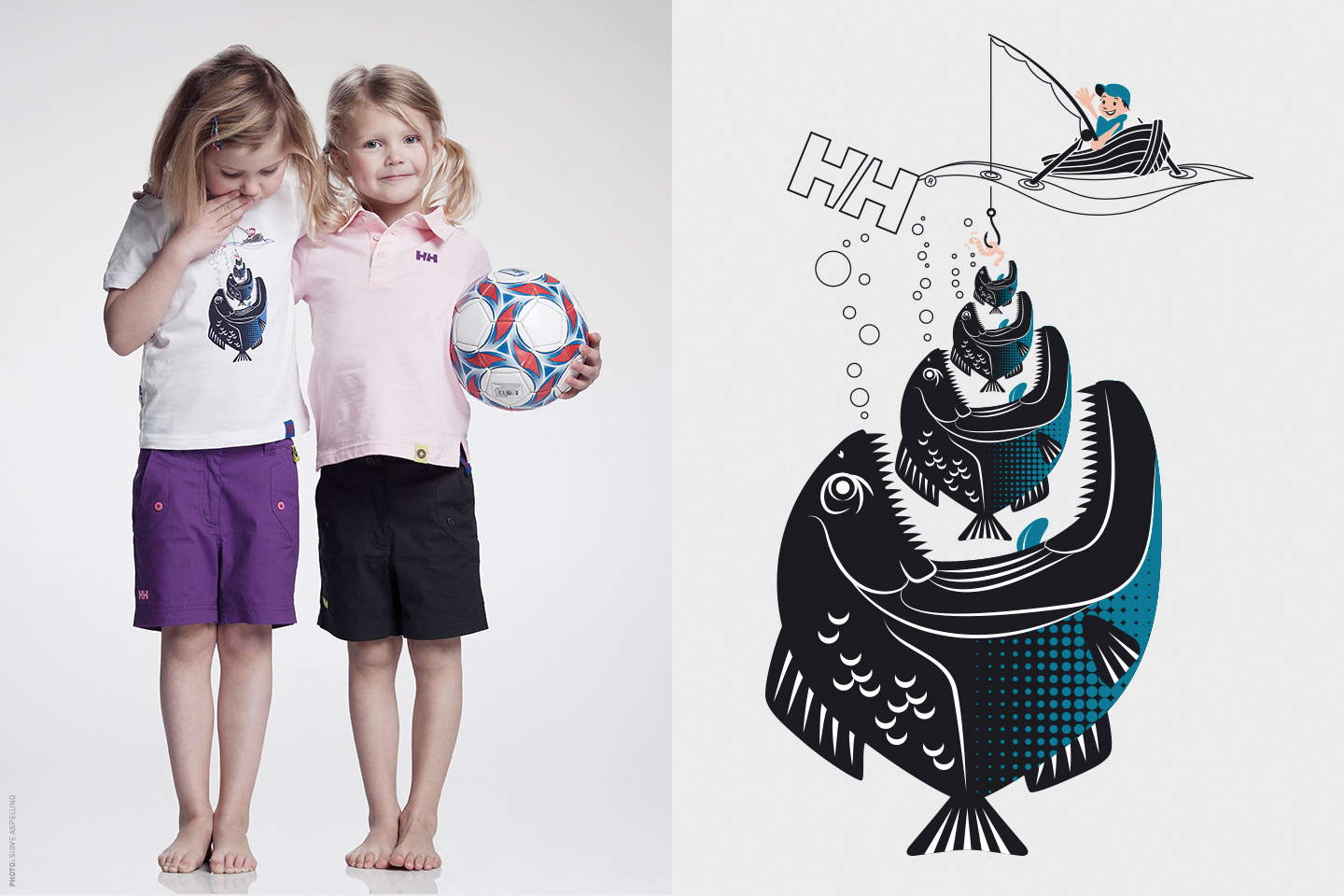 Helly Hansen kids graphics, t-shirt.