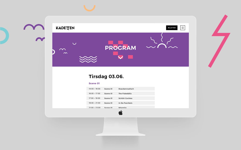 Desktop example with program