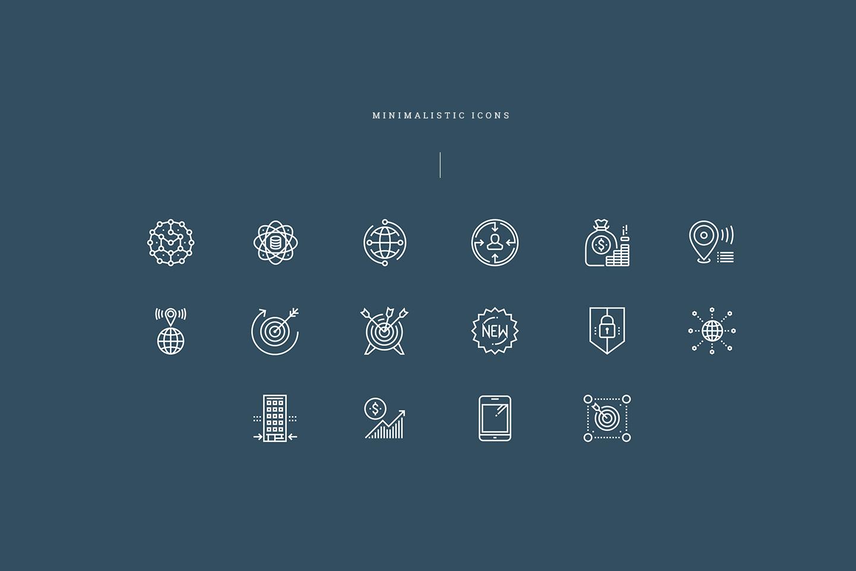 Unacast icons