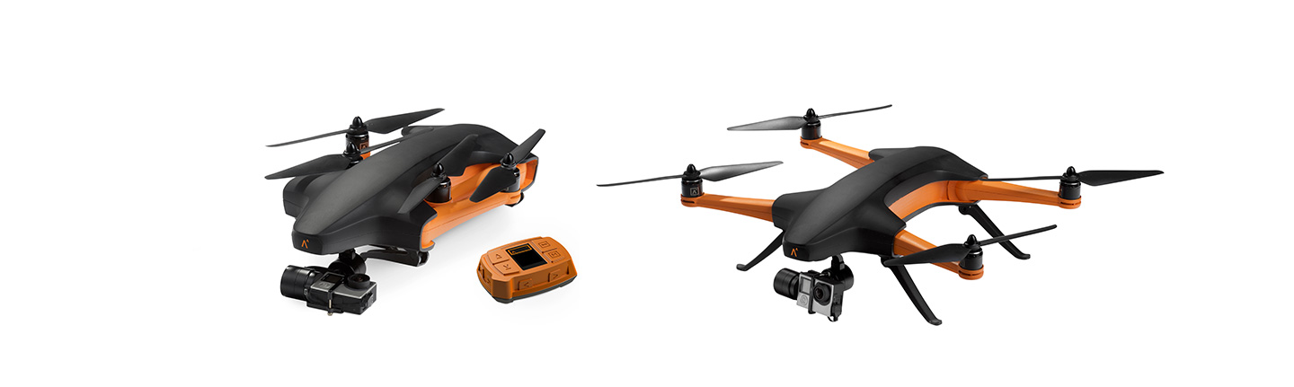 Staaker drone and tracker