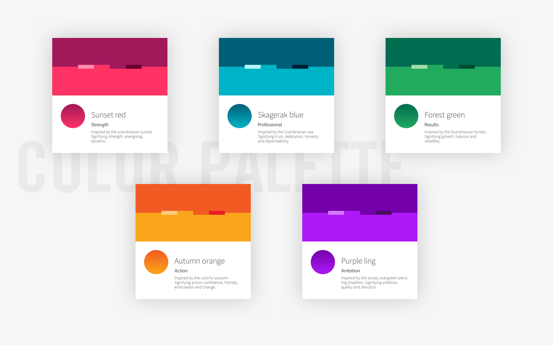 CatalystOne - Brand colors