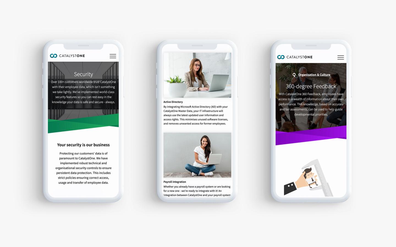 CatalystOne - Web Mobile