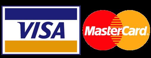 Master and Visa card logo