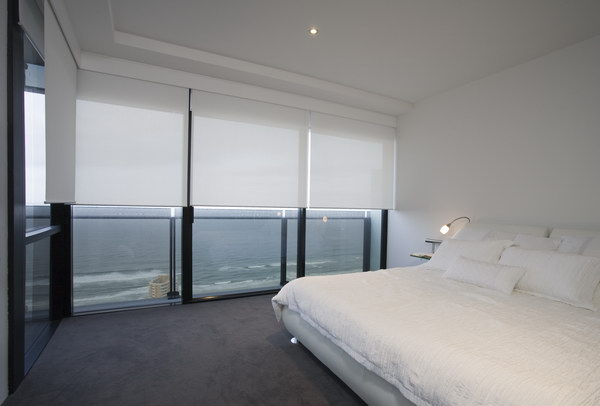 Bedroom Sheer Sunscreen Roller Blinds