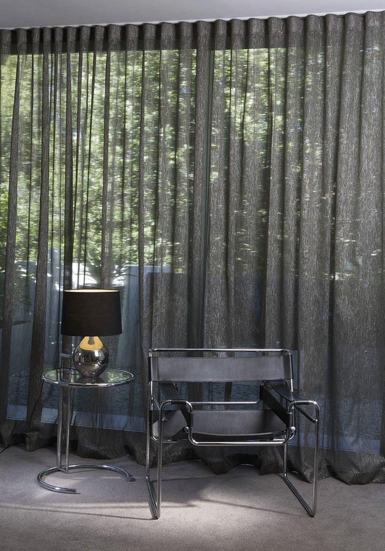 Grey Sheer Curtains