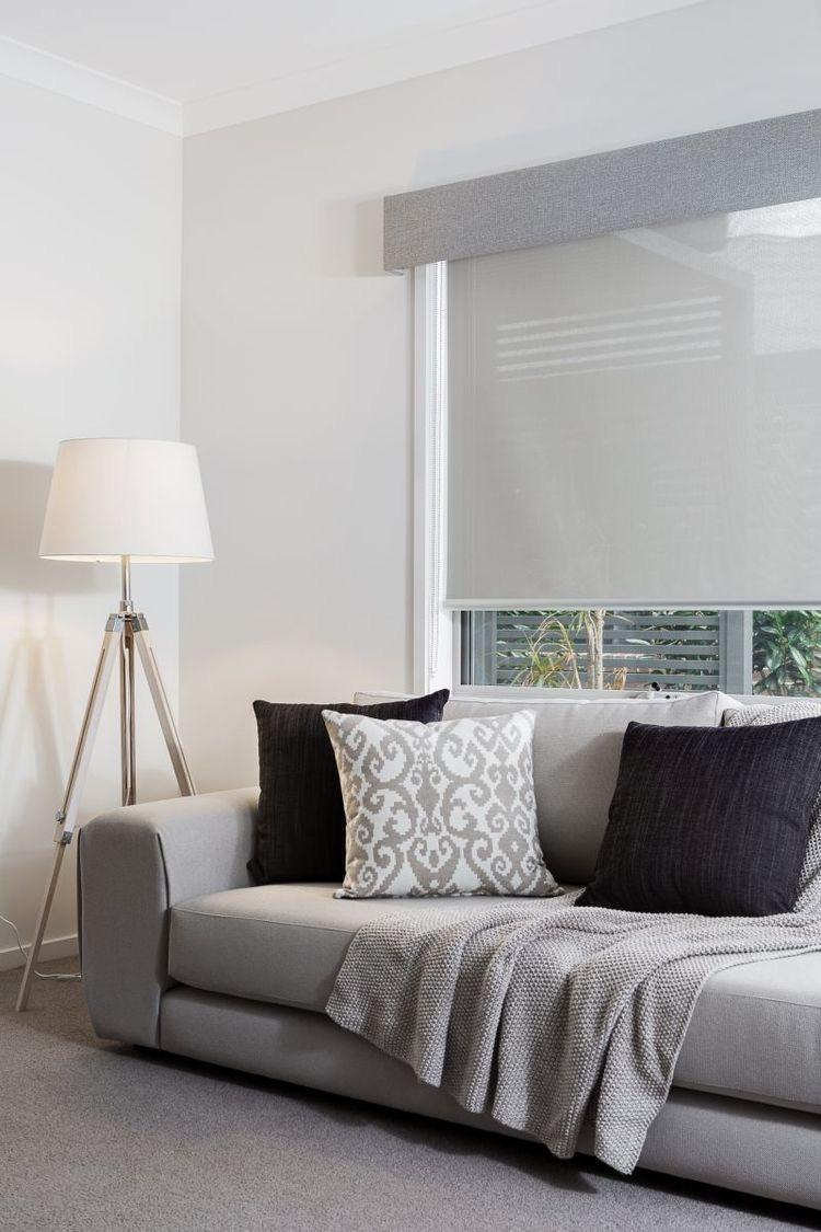 Living Room Blockout Roller Blinds