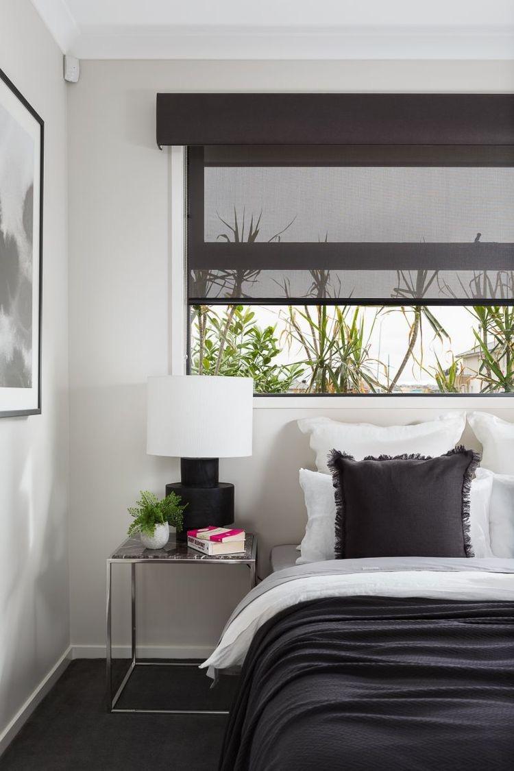Bedroom Dual Roller Blinds