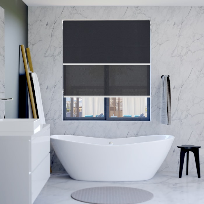 Bathroom Dual Roller Blinds