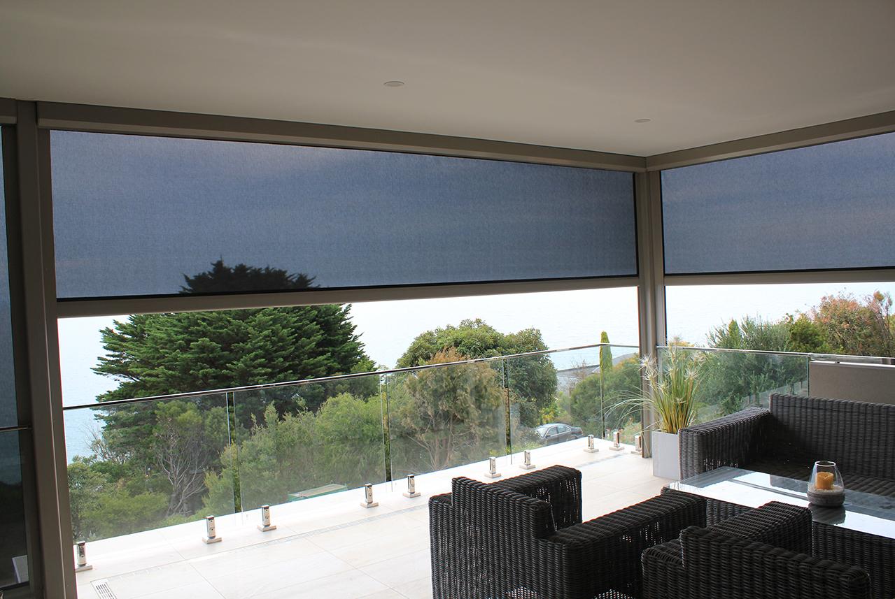 Zip Screen Blinds installed in Melbourne